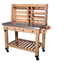 Wooden Potting Benches Smith Hawken Potting Bench Target