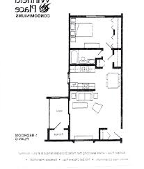 One Bedroom Apartment Floor Plans by Home Design One Bedroom Apartment Floor Plans Bohedesign With