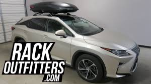 lexus rx 350 dimensions 2012 lexus rx350 with yakima skybox carbonite 16 roof top cargo box