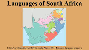 World Language Map by Languages Of South Africa Youtube