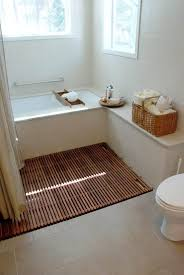 White Bathroom Laminate Flooring - wood floor in bathroom houses flooring picture ideas blogule