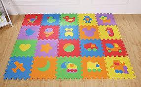 tappeto di gomma per bambini tappeto puzzle padgene set mattonelle puzzle lettere tappeto da