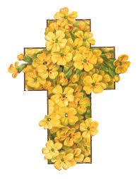 cross with flowers free clipart hanslodge cliparts