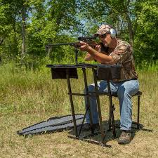 Portable Shooting Bench Building Plans Kill Shot Portable Shooting Bench With Gun Rest Portable