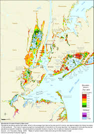Map Of New York And Manhattan by Sea Level Rise Planning Maps Likelihood Of Shore Protection