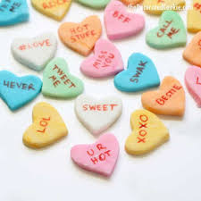 sweet hearts candy how to make conversation hearts candy for s day