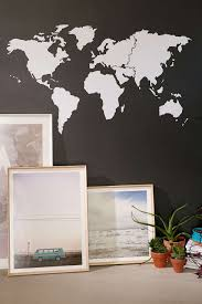 walls need love world map wall decal seattle s travel shop walls need love world map wall decal