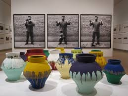 Ai Weiwei Dropping Vase Manhattan Living Ai Weiwei And Swoon Exhibitions Energize The