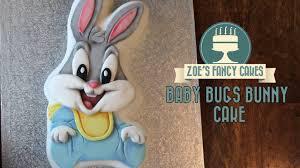 baby bugs bunny cake tutorial cakesdecor