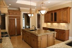 granite countertop individual kitchen cabinets backsplash