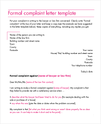 claim letter sample formal letters complaint free word pdf
