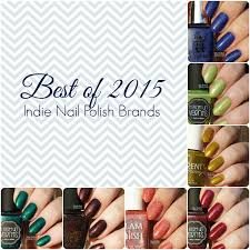 my polish stash best of 2015 my favorite indie nail polishes