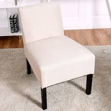 Beige Accent Chair Costway Rakuten Costway Accent Chair Armless Contemporary