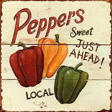 kitchen chili pepper wall art chili pepper christmas farmhouse wall art amazon com