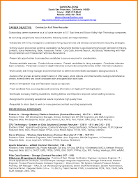 recruiter resume example cover letter for any vacant position leading professional corporate recruiter sample resume example sponsor form insurance family support cover letter