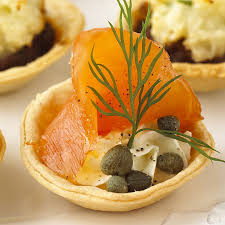 mini canape smoked salmon dill mini tartlets minibites recipes lakeland