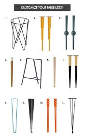 how to taper 4x4 table legs 16 best kitchen island support leg ideas images on pinterest