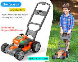 husqvarna toy walk lawn mower toy review chainsaw journal