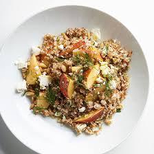 and feta bulgur salad