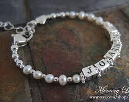 infant name bracelet infant bracelet etsy