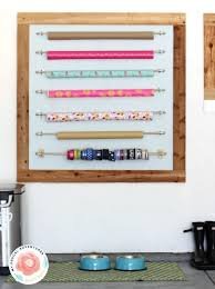 wrapping station ideas gift wrap organizing ideas projects decorating your small space