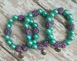 party favor bracelets mermaid party favor etsy