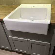 Laundry Room Sinks With Cabinet New Laundry Room Cabinets Butcher Block Farmhouse Sink