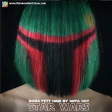 star wars hair styles crazy new star wars hairstyles awaken the force beauty
