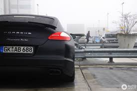 matte black porsche panamera porsche panamera turbo 2 january 2017 autogespot