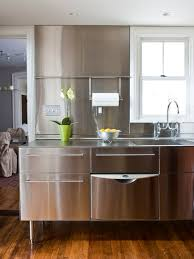 Ikea Stainless Steel Cabinets Houzz - Stainless steel kitchen cabinets ikea
