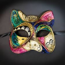 cat masquerade mask gatto cat animal masquerade mask m2607 beyondmasquerade