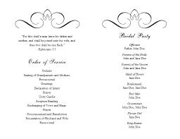 wedding program layout wedding program word jcmanagement co