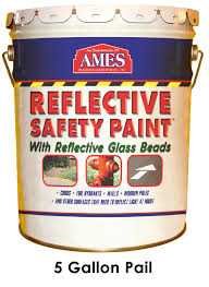 How Much Wall Does A Gallon Of Paint Cover Ames Elastomeric Reflective Safety Paint