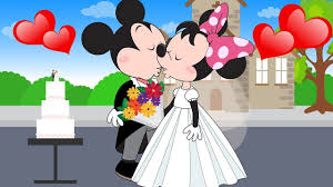 mickey mouse married minnie mouse mickey mouse friends