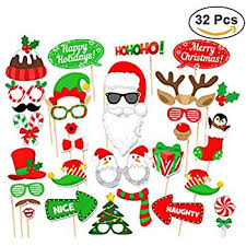 christmas photo booth props tinksky christmas party photo booth props creative