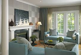 fireplace accent walls family room modern with end table end table