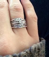 stackable engraved mothers rings we moved to our new website ring gift and