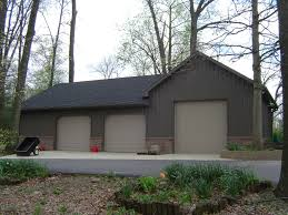 suburban building profile use oversized pole barn garage for
