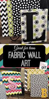 Low Cost Wall Decor Best 25 Fabric Wall Art Ideas On Pinterest Fabric Canvas Art