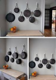 1 Cast Iron Collection 2 Hanging Pot Rack Made Out Of Plumbing