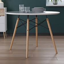 modern dining tables modern contemporary kitchen dining tables you ll love wayfair
