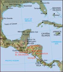 Miami On Map by Managua Location Map U2022 Mapsof Net
