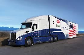 peterbilt show trucks rise of the 10 7 mpg peterbilt supertruck