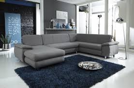 wohnzimmer wohnlandschaft dreams4home polstersofa spike sofa wohnzimmer braun grau