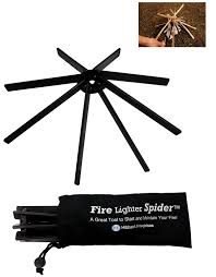 Starting A Fire Pit - amazon com fire lighter spider fire pit log holder for