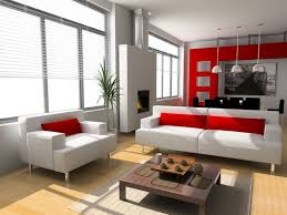 Designer Living by Home Design 93 Outstanding Red And White Living Rooms
