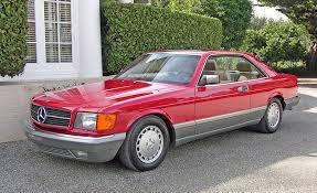 1986 mercedes 560 sec classics update the sec mercedesheritage