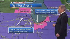 Weather Map Chicago by Chicago Weather Wind Chill Advisory In Effect As Temps Plunge