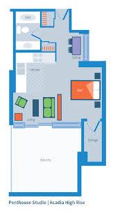 high rise floor plans acadia park sample floor plans