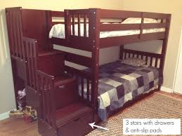 bedroom loft bed with steps rustic bunk beds clearance bunk beds